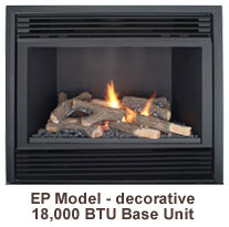 Tasman Gas Fireplace Decorative EP Model